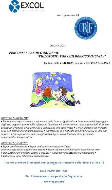 Percorsi E Laboratori Di P4c A Udine Crif P4c