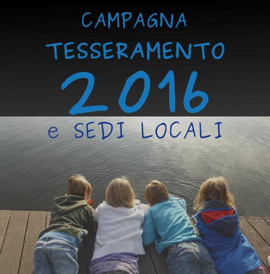 campagna tesseramento 2016